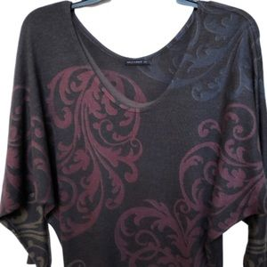 Anthropologie Nally & Millie dolman sleeve top.